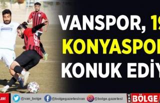 Vanspor, 1922 Konyaspor'u konuk ediyor