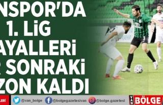 Vanspor'da 1. Lig hayalleri bir sonraki sezon...