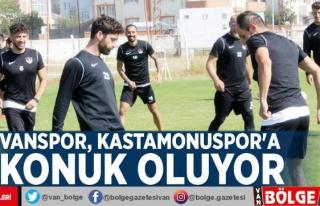 Vanspor, Kastamonuspor'a konuk oluyor