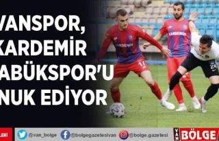Vanspor, Kardemir Karabükspor'u konuk ediyor
