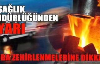 Müdür Sünnetçioğlu'ndan, karbonmonoksit zehirlenmelerine...