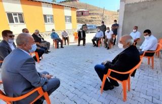 Başkan Akman'dan, mahalle ziyaretleri…