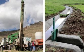 Kırsal bölgeler suyla buluşuyor