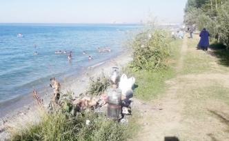 Vanlılar, İşkirt sahillerine akın etti