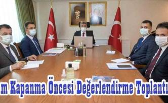 Vali Bilmez başkanlığında VKS toplantısı…