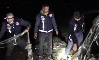 Van'da 2,5 ton kaçak avlanmış Van Balığı ele geçirildi