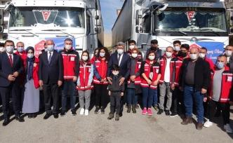 Van'dan, İzmir'e iki TIR yardım…