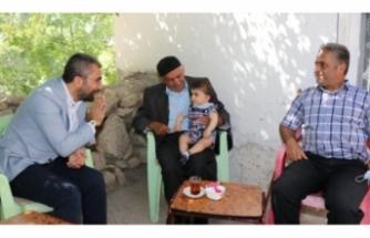 Başkan Say'dan, 'Babalar Günü' ziyareti...