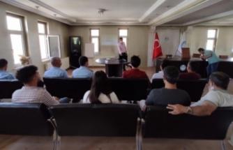 Çaldıran Belediyesi çalışanlarına iş sağlığı eğitimi
