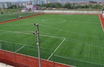 Tuşba'da sentetik çim yüzeyli futbol sahası yaptırılacak