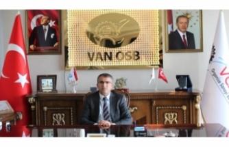 Van OSB Başkanı Aslan'dan, Basın Bayramı mesajı...