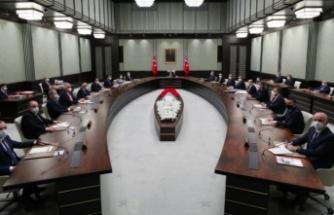 Ertelenen kabine, Cumhurbaşkanı Erdoğan'ın başkanlığında bugün toplanıyor