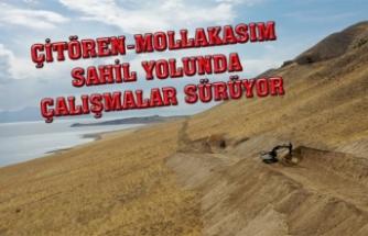 Çitören-Mollakasım, yeni sahil yoluna kavuşuyor