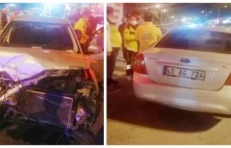 Van'da trafik kazası: 1 yaralı...