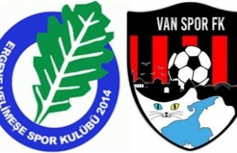 Vanspor, Ergene Velimeşe'yi iki golle geçti:1-2