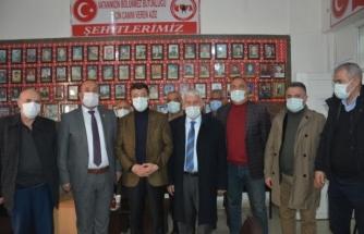 Türkmenoğlu ve yönetiminden, şehit ailesi ve gazilere ziyaret...
