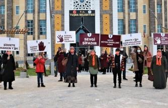 Kadına Şiddete Hayır temalı afiş yarışması sona erdi