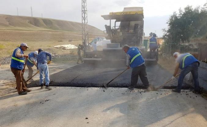 Büyükşehir'den asfalt çalışmaları