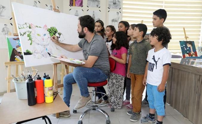 Büyükşehir'in resim kursu kayıtları başladı