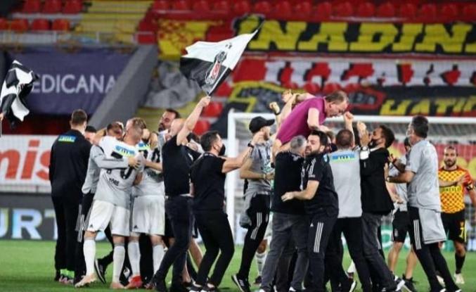 Şampiyon Beşiktaş...