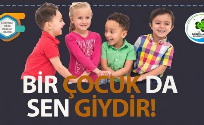 Gürpınar Belediyesi bayram öncesi çocukları sevindirdi