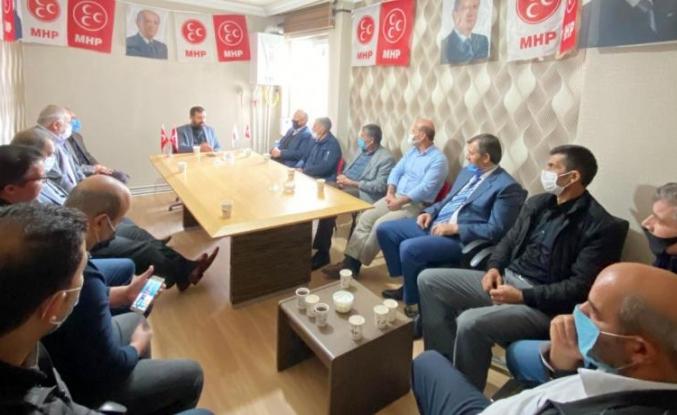 MHP Tuşba İlçe Yönetimi ilk toplantısını yaptı