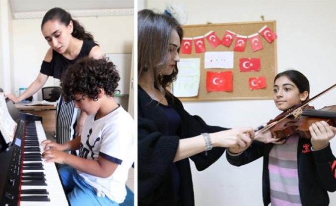 Büyükşehir'den kültür sanat kursları...