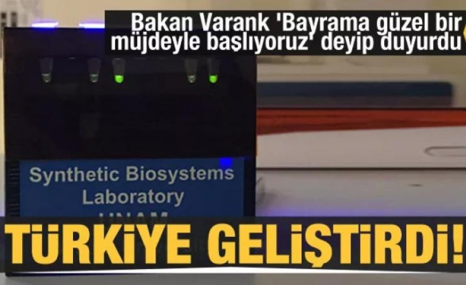 Varank müjdeyi verdi! Kovid-19 tanısı için yeni sistem geliştirildi
