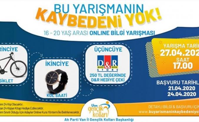 AK Parti'den videokonferans yarışması